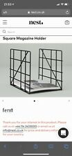 Ferm Square Magazine Rack *NEW*