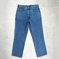 Mens Vintage LEVIS 627 Orange Tab Jeans size W32 L28 High Waist Straight leg