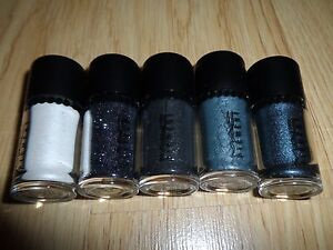MAC OBJECTS OF AFFECTION SILVER + BLUE PIGMENTS GLITTER HOLIDAY 2014 COLL. NWOB