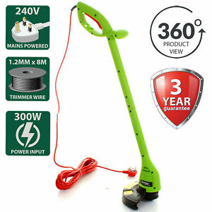 300W Grass Trimmer Electric Garden Weed Strimmer Edge Cutter Corded 240V Main