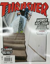 Thrasher Magazine Issue 480 July 2020 Worst Ads Ever Lol Grosso Remembered