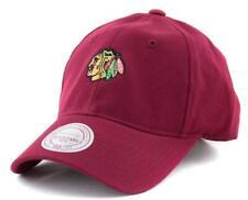 Chicago Blackhawks Cap - Mitchell & Ness NHL Hat - Mitchell And Ness In Burgundy