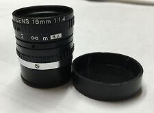 New!!   TV Lens 16mm  1:1.4
