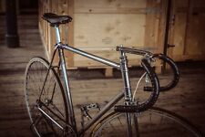 Vintage Original 1951 Hill Special Chrome Track Bicycle Chater Inch Pitch Eroica