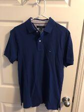 Tommy Hilfiger NEW Custom Fit Men's Solid Short Sleeve Pique Polo Shirt Size med