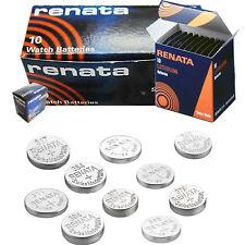 2 x Renata 379 Watch Battery Swiss Made Silver Oxide Batteries