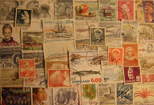 Greenland 100 Different Used