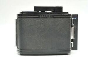 GRAFLEX SINGER RH10 6x7 120 Roll Film Back/ NO DARK SLIDE