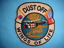 """KOREA WAR PATCH US DUST OFF 377th MEDICAL COMPANY """" WINGS OF LIFE """""""