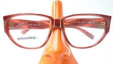Brille Gestell Marke Silhouette groß Schmetterlingsform breite Bügel rot size M