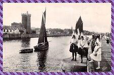 Tarjeta postal - Los Sables OL 'Olonne - el canal et la torre D'arundel
