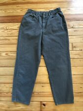 Liz Claiborne Lizwear Petites 100% Cotton High Waist Tapered Leg Cords Pants 14P