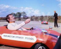 """UFO (TV) Patrick Allen, Ed Bishop """"Edward Bishop"""" 10x8 Photo"""