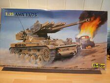 Heller 1/35 AMX 13/75, Tank / Missile Launcher.+metal upgrade.