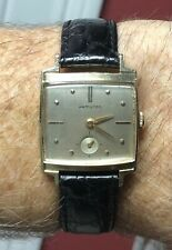 Vintage 1958 Hamilton Gramercy 10K Gold Filled Watch 770 22J Runs