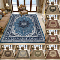 Non Slip Traditional Rugs Large Hallway Runner Rug Living Room Bedroom Carpets