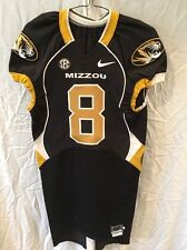 bf2245370 Game Worn Used Missouri Tigers Mizzou Football Jersey  8 Size 40 BONNER