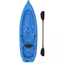 Lifetime 8ft. Lotus 80 Kayak, Sit On Top w/ Paddle - Blue - Brand New