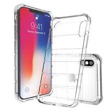 IPhone X Cristal Transparente Gel Estuche Slim-Fit absorción de choque claro
