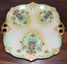 Art Nouveau Gibson & Sons Windsor Art Ware Blushware Handled Cake Plate