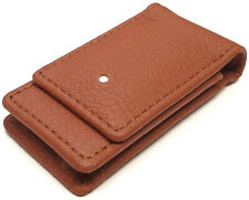 Dunhill Terracotta White Spot Leather Case For Rollagas Lighters (la2020)