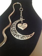 Special nan.. filligree book mark silver plated