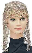 Cleopatra Headpiece Gold Bead Egyptian Fancy Dress Halloween Costume Accessory