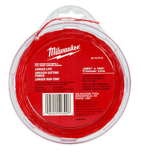 "Milwaukee 0.080"" x 150' Trimmer Line 49-16-2712 SHIPS NOW!"