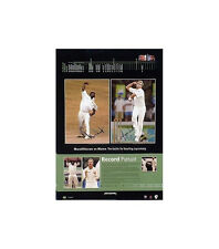 Record Pursuit - Shane Warne and Muttiah Muralitharan – Signed L/E Print