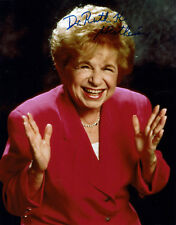 Dr. Ruth Westheimer hand signed Autograph Autogramm COA - Sexualtherapeutin