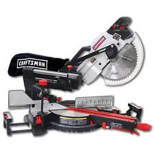 "Craftsman 10"" Compact Sliding Compound Miter Saw with Laser Trac Precision"