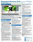 Photoshop Elements 2019 Training Guide Quick Reference Card 2 Page Cheat Sheet