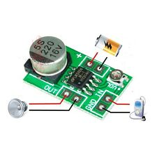 Mini LM386 Audio Power Amplifier Board DC 3~12V 5V Micro Amp Module 750mW CA