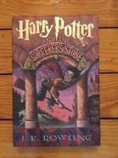 Harry Potter And The Sorcerer's Stone Rowling 1st American Edition 7th Printing