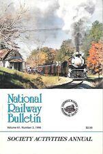 NRHS Bulletin V61 N3 1996 Southern Railway Mikado Atlantic Coast Line Watauga