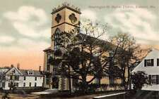 Eastport Maine Baptist Church Exterior Antique Postcard K18386