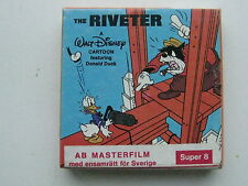 Vintage Walt Disney Home Movies 8mm Film  Cartoon The Riveter