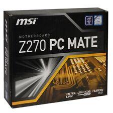 MSI Z270 PC MATE Intel Z270 Socket 1151 ATX Motherboard GbLAN & RAID