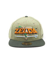 OFFICIAL NINTENDO'S THE LEGEND OF ZELDA 8 BIT LOGO SNAPBACK CAP (BRAND NEW)