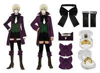 Black Butler II 2 Alois Trancy Cosplay Master Costume Anime Garment Clothes