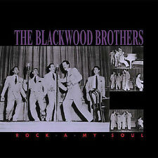 Blackwood Brothers 5-CD set, 82 p. book, Rock-A-My-Soul, 1952-1959, Bear Family