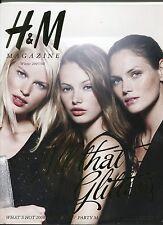 H & M FASHION CATALOG  WINTER  2007/08 with Model MINI ANDEN