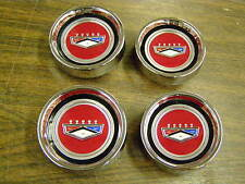 New Repro. Ford 1966 1967 Fairlane Styled Steel Wheel Center Hub Caps Ranchero