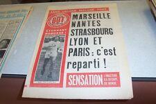 BUT LE JOURNAL DU FOOTBALL N° 402 19 octobre 1973 BOBOSSE BOSQUIET