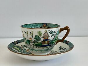 Crown Staffordshire Ye Olde Willow Cup and Saucer