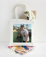 Personalised White Tote Bag/Add you own Photo/ Nan/Mum/Friend/Auntie Gift