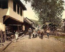 New 8x10 Photo - Sarajevo Turkenviertal Bosnia Austria-Hungary 1890-1900