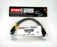 STOPTECH STAINLESS STEEL REAR BRAKE LINES FOR 03-15 NISSAN 350Z / 370Z
