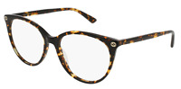 *NEW AUTHENTIC* GUCCI GG0093O 002 HAVANA EYEGLASS FRAME SIZE 53mm