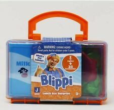 Blippi Lunch Box Surprise Pack 1- Figure, 2- Accessories & stickers Brand New!